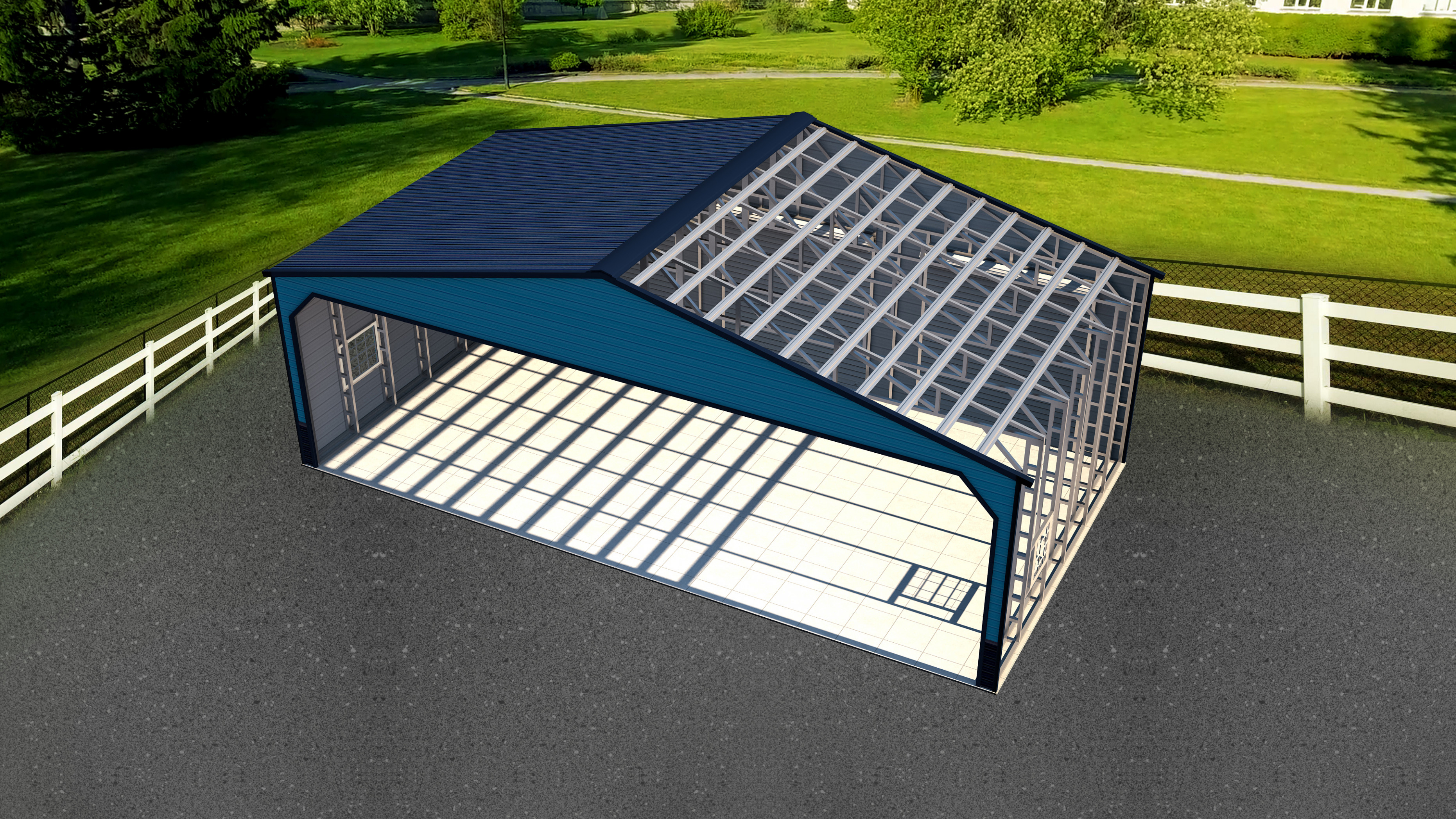 Explore Metal Carports & Garage Components with Visual Glossary