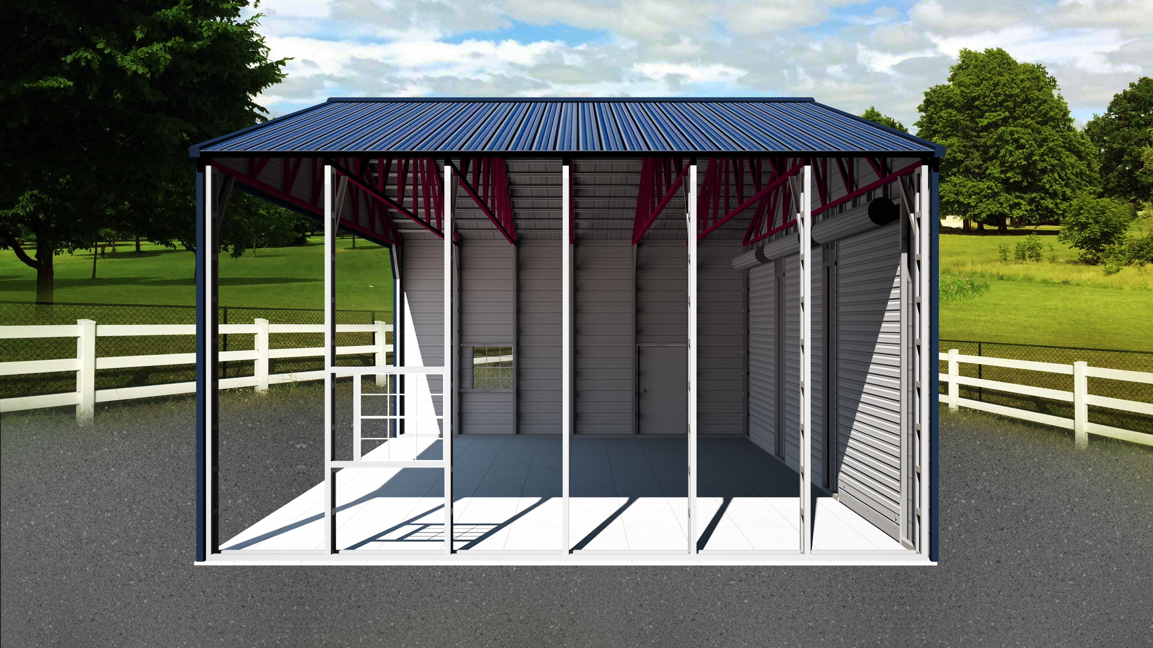 Explore Metal Carports & Garage Components With Visual Glossary Metal Carport Roof Braces