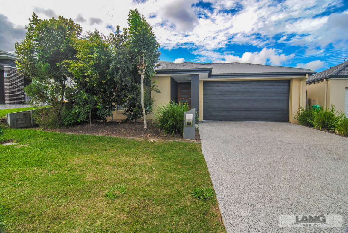 Family Home With Extra High Double Garage Doors And Extra ..