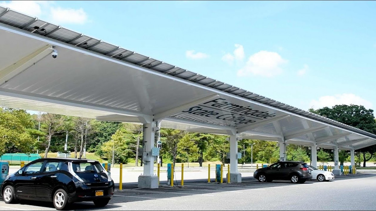 Farmingdale State College Solar Carport Solar Carports Parking Lots