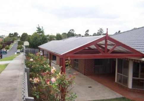 Firmlok Colorbond Frame Gabled Roof Attached Carport With ..