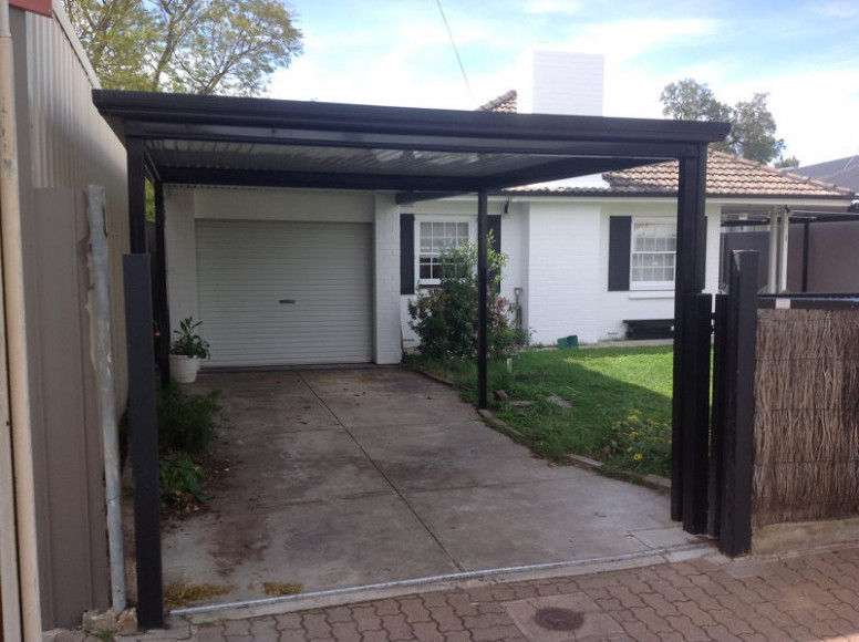 Flat Outback Carport With Alpine Colour Roofing All Type ..