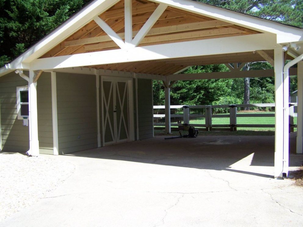Flat Roof Carport Designs Simple Carport Ideas