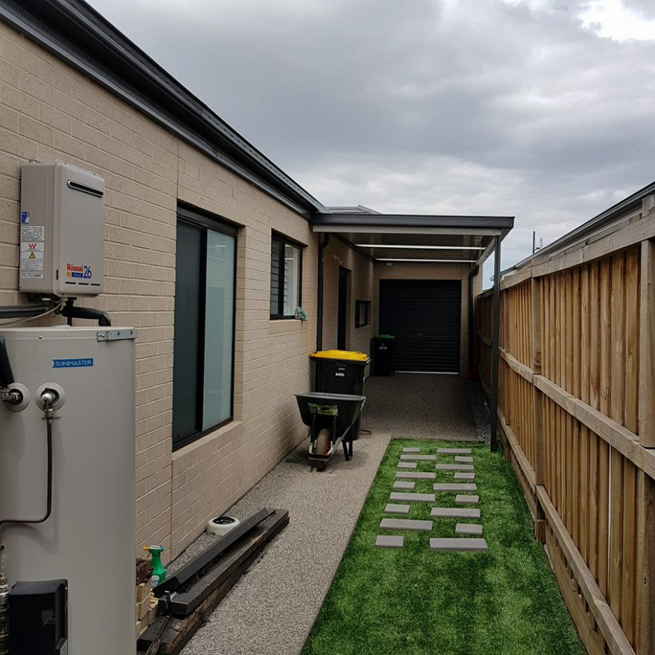 Flat Roof Carport Insulated Flat Roof Extension ..