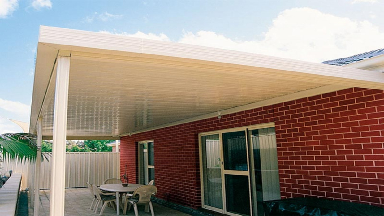 Flat Roof Carports, Attached Flat Roof Carports Attached ..