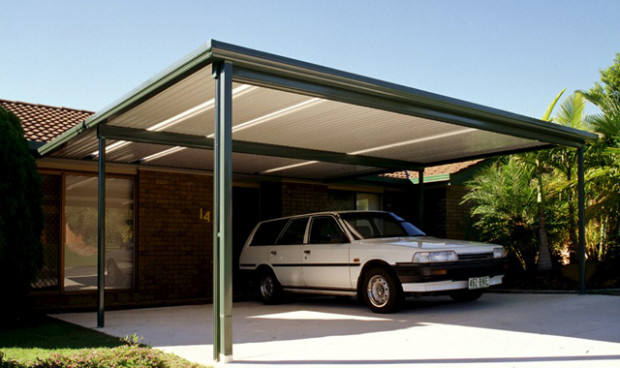 Flat Roof Carports Melbourne Carports With Flat Roofs