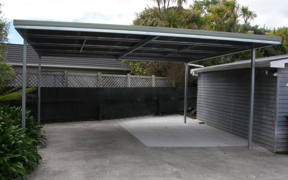 Flat Roof | Carports | Totalspan New Zealand Roof Or Carport