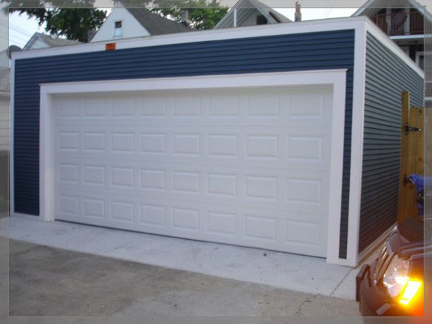 Flat Roof Garage | Garage In 2019 | Garage, Garage ..