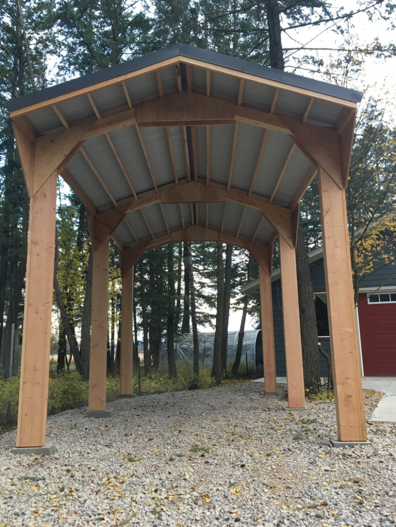 Flathead Carports In Kalispell Montana, A Viking Cover Dealer Wooden Carports Suppliers