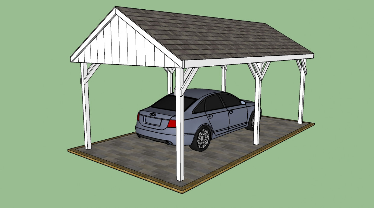 Free Carport Plans   HowToSpecialist How To Build, Step By ..
