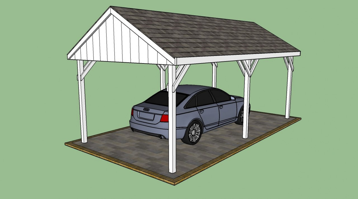 Free Carport Plans | HowToSpecialist How To Build, Step By ..