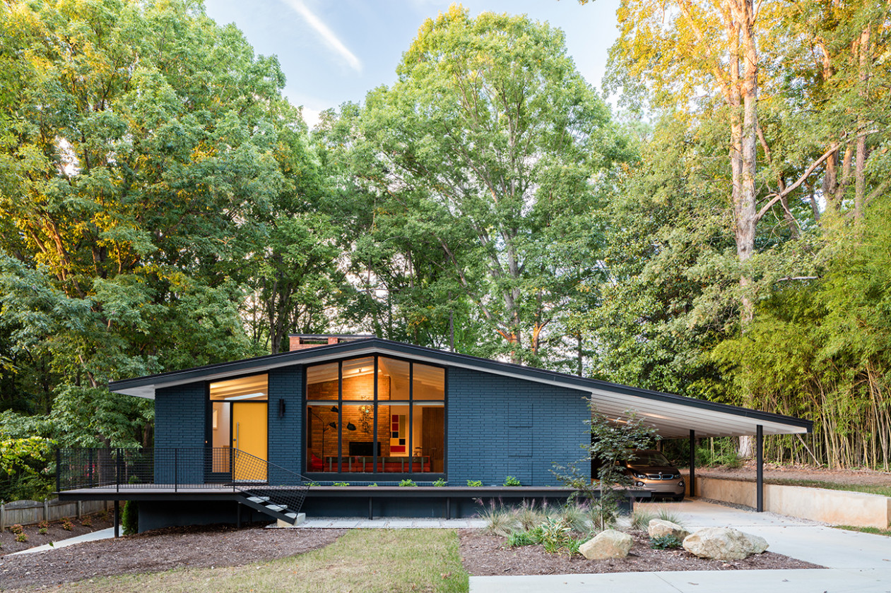 From California To Carolina: Revival Of A Midcentury Modern ..