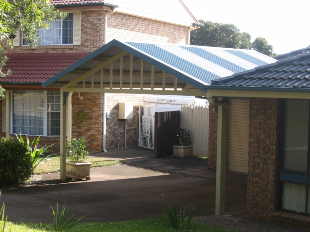 Gable Carports Gallery Starport Constructions Gable Roof Carport Attached To House