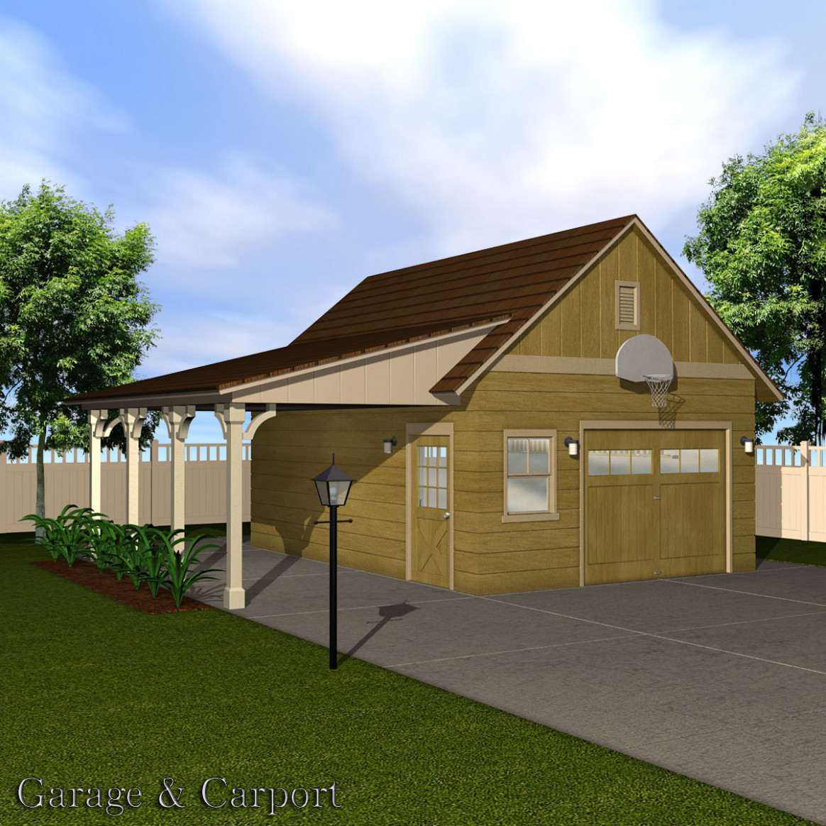 Garage & Carport Set 8D Models Richabri Carport Vs Garage
