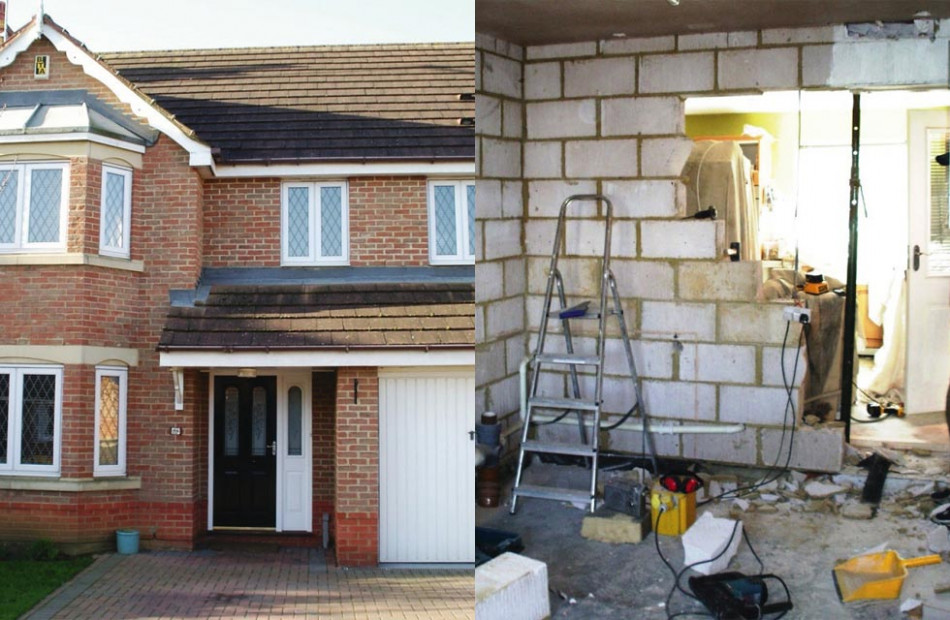 Garage Conversion Ideas | Homebuilding & Renovating Carport To Garage Conversion Uk