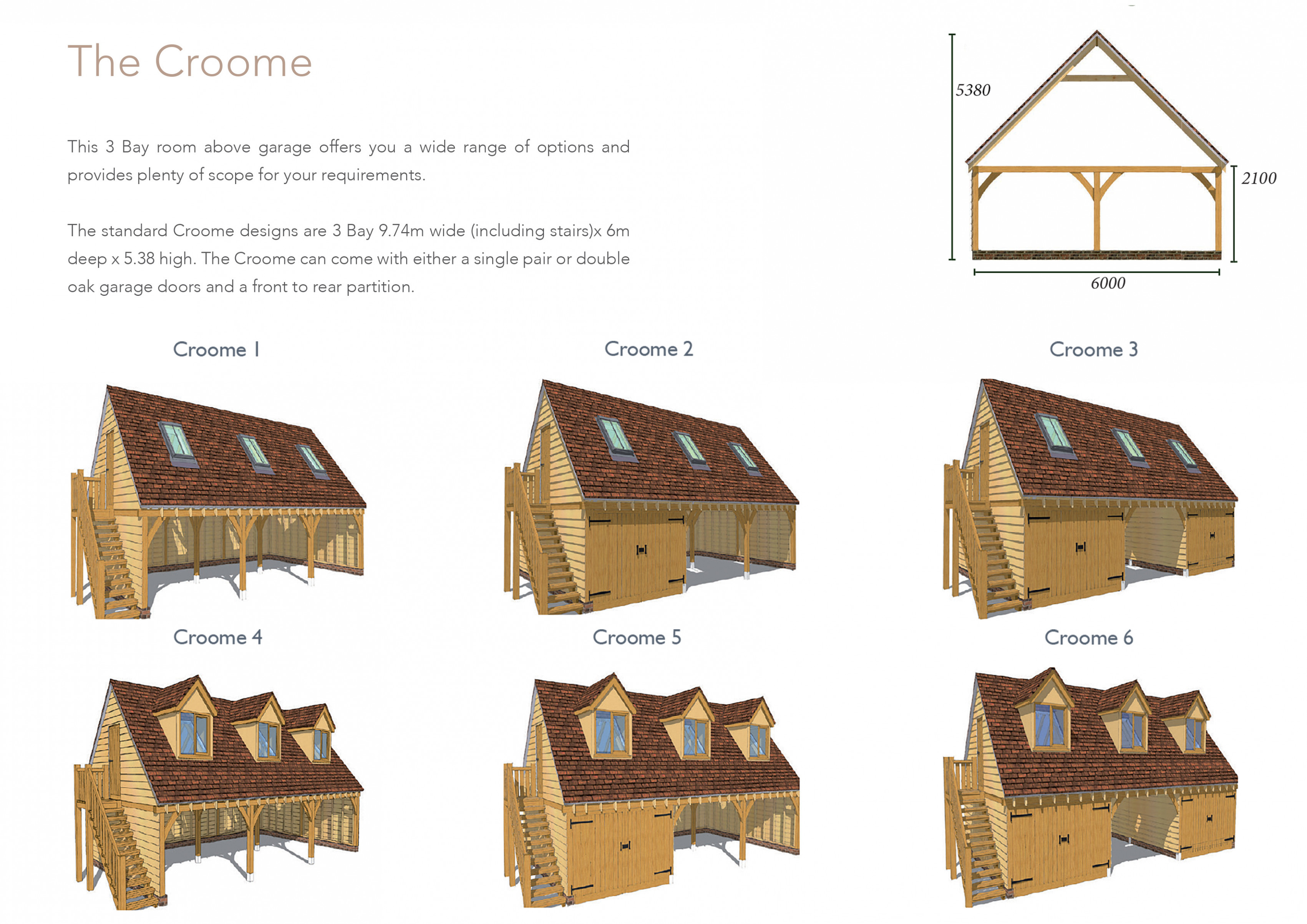 Garage Kits - Mitre Oak - Oak Framed Buildings