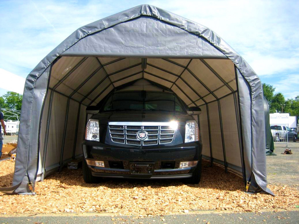 Garage: Portable Garage Costco For Easy To Install Garage ...