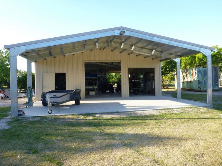 Garage With Carport Front | Carports, Sheds And Garages ..