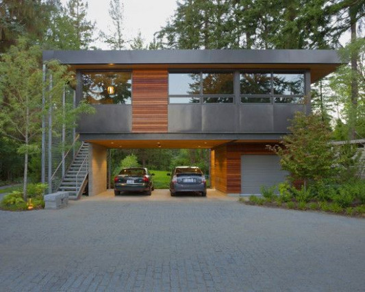 Garage With Living Space Above Beautiful 26 Carport Garage ..