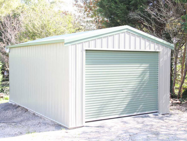 Garages | All Space Sheds Single Car Garage With Carport