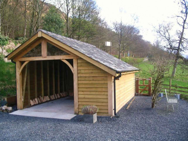 Garages And Workshops | Woodstyle Joinery Carports Garage Uk