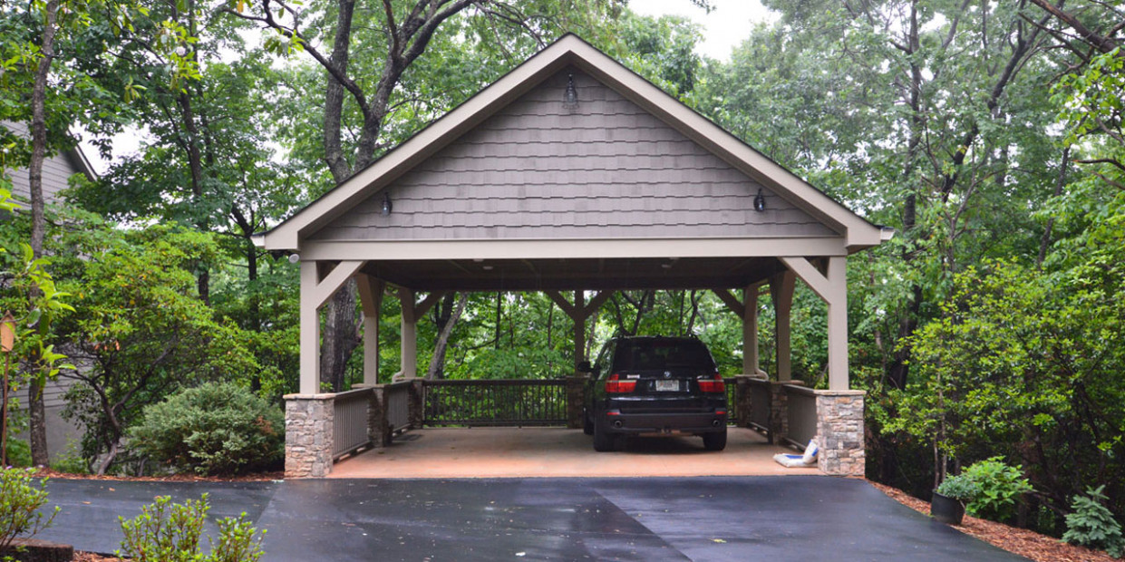 Garages & Carports | Serenity Renovations How To Convert Your Carport Into A Garage