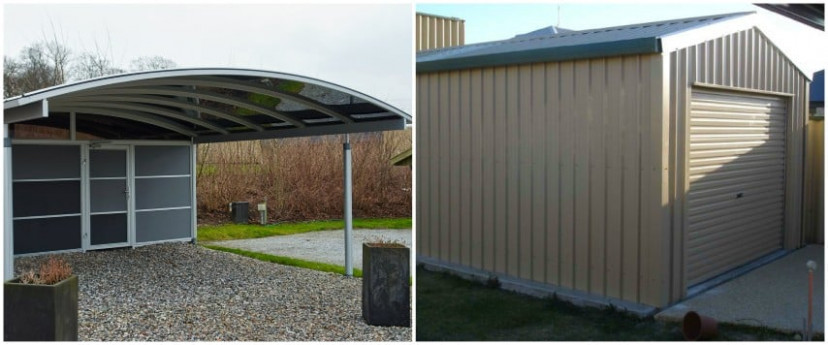 Garages Or Carports: Which Is Better For You? | Action Sheds Carports Or Garage