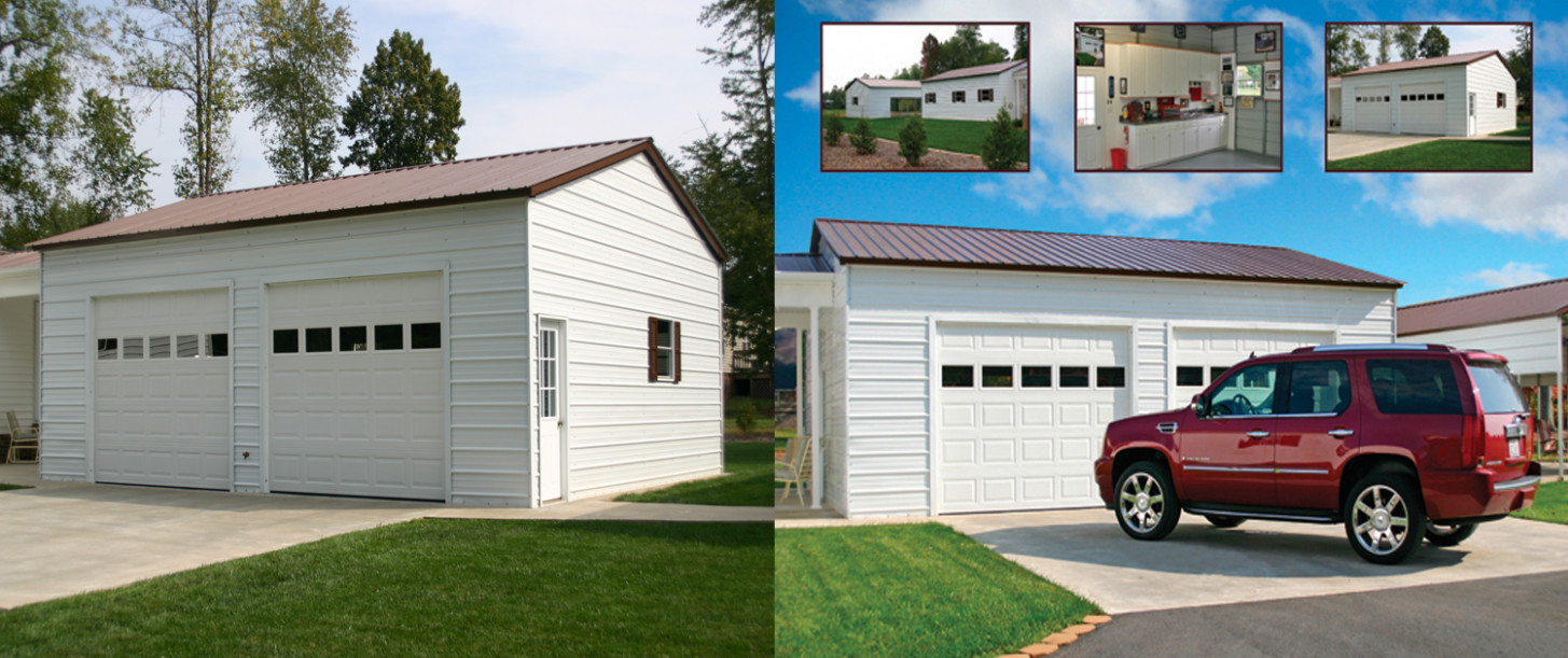 Garages | Superior Outdoor Structures Can You Change A Carport Into A Garage