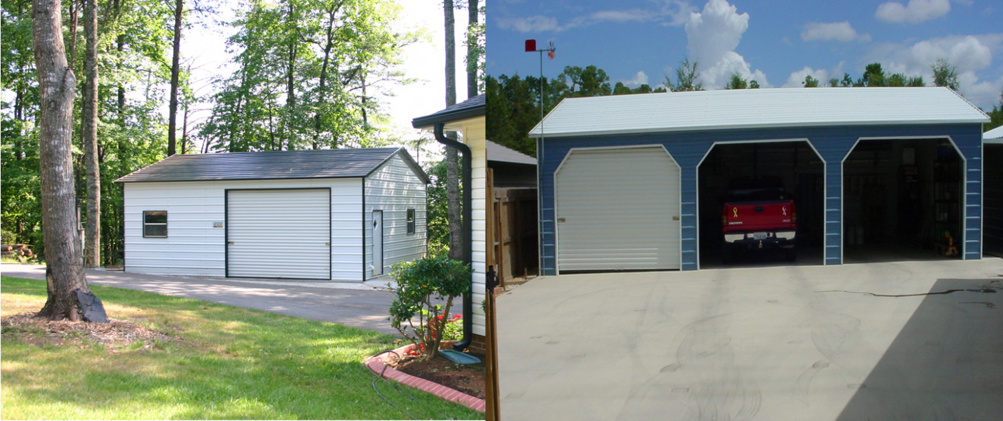 Garages | Superior Outdoor Structures Can You Turn A Carport Into A Garage