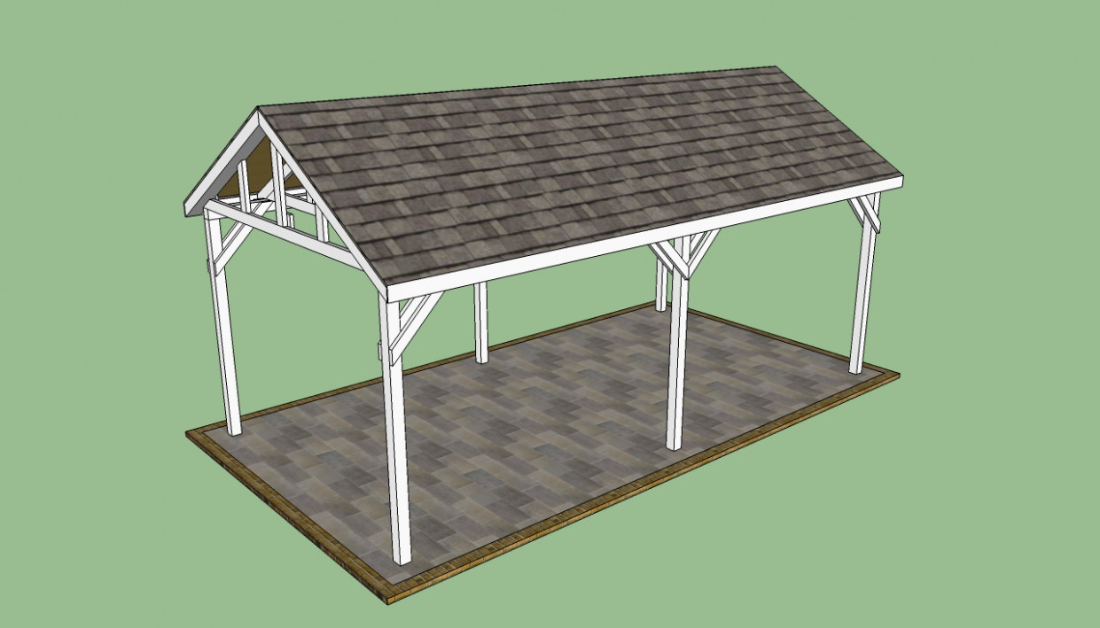 Garbage Can Shed Plans: Wooden Carport Kits Wooden Plans