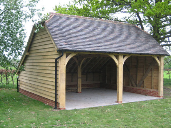 Gardens Offices East Sussex | Eastbourne Bexhill Lewes Wooden Carport And Garage