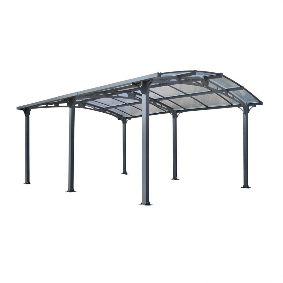 Gazebo Penguin Acay Carport 10 Ft. 10 In. D X 10 Ft. 10 In. W X 10 Ft. 10 In