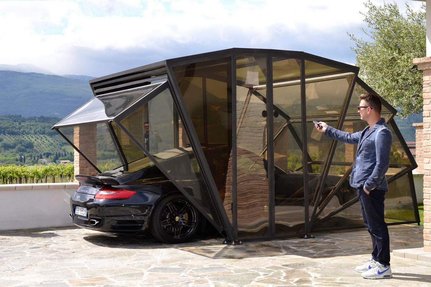 GazeBox: A Gazebo, Carport And Garage, All In One GarageSpot Carport And Garage