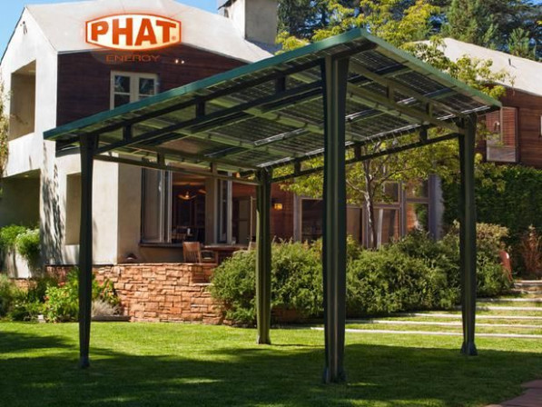 GGGGG Freestanding Solar Structure: Patio Canopy Or ..
