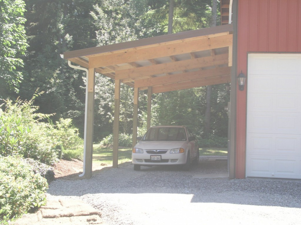 Gorgeous Carport Plans Attached To House For Ideas Green ..
