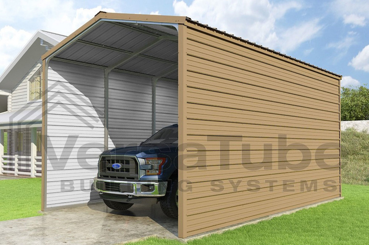 Grand Carport 12 Sided 112x112x12 FREE SHIPPING Carport Garage Trim