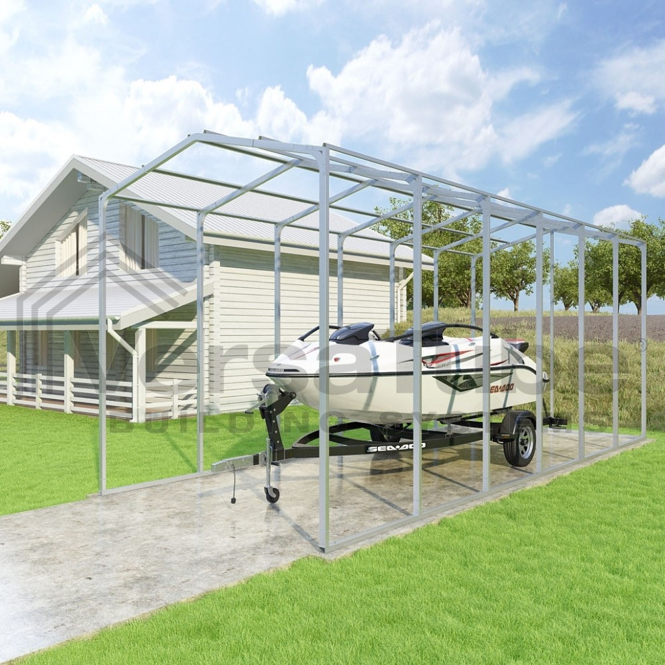 Grand Carport 9 Sided Frame Only 9 X 90 X 9 Carport Roof Purlins