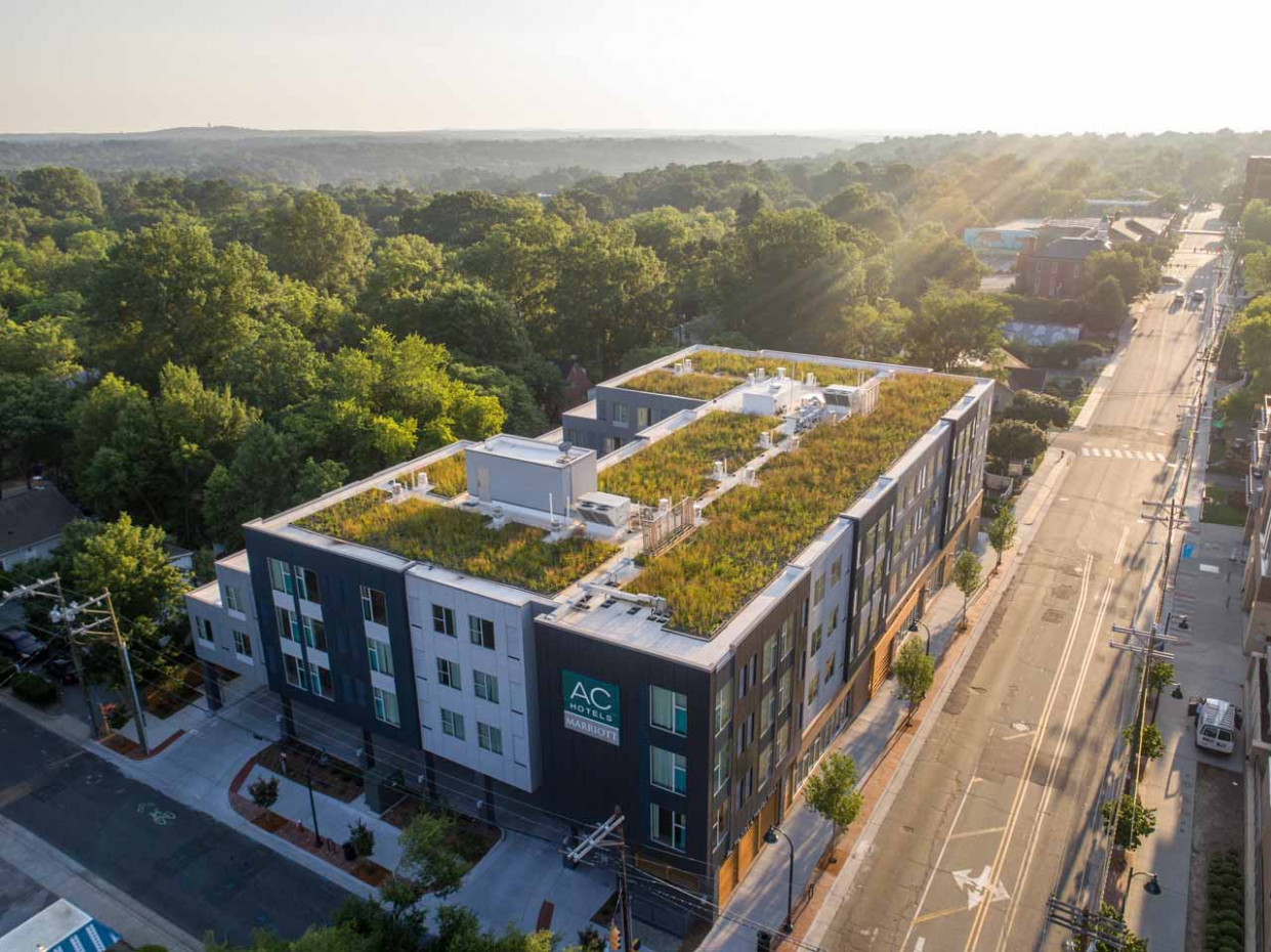 Green Roof Project Portfolio :: Living Roofs Inc