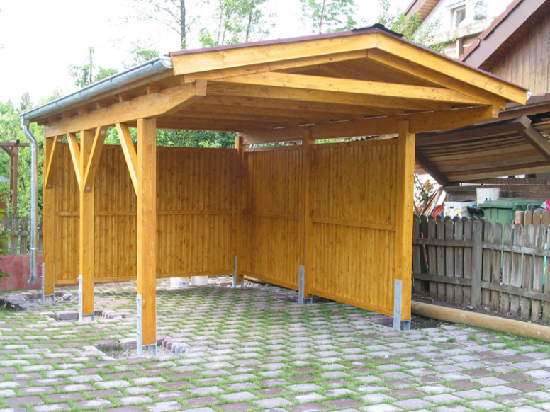 Hail Storm, Car Ports And Tractors On Pinterest Small Garage Carports