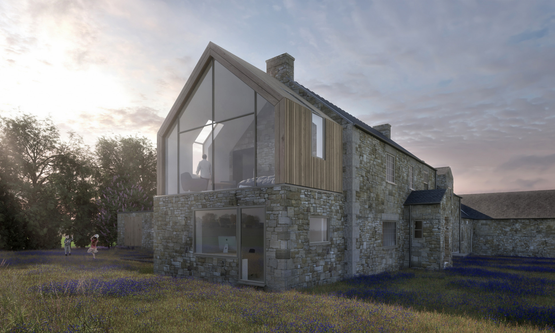 Heatherden House Extension Gable End Great Space Architects ..