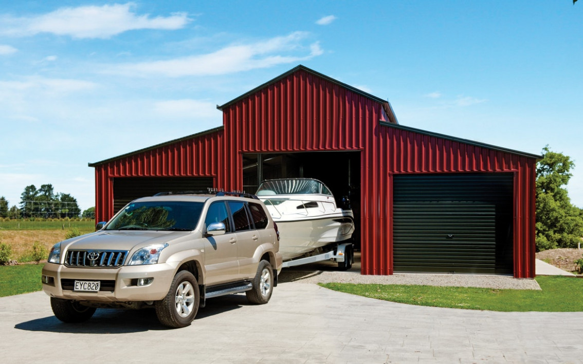 Heritage Barns Built For Life   Totalspan New Zealand Turning A Carport Into A Garage Nz