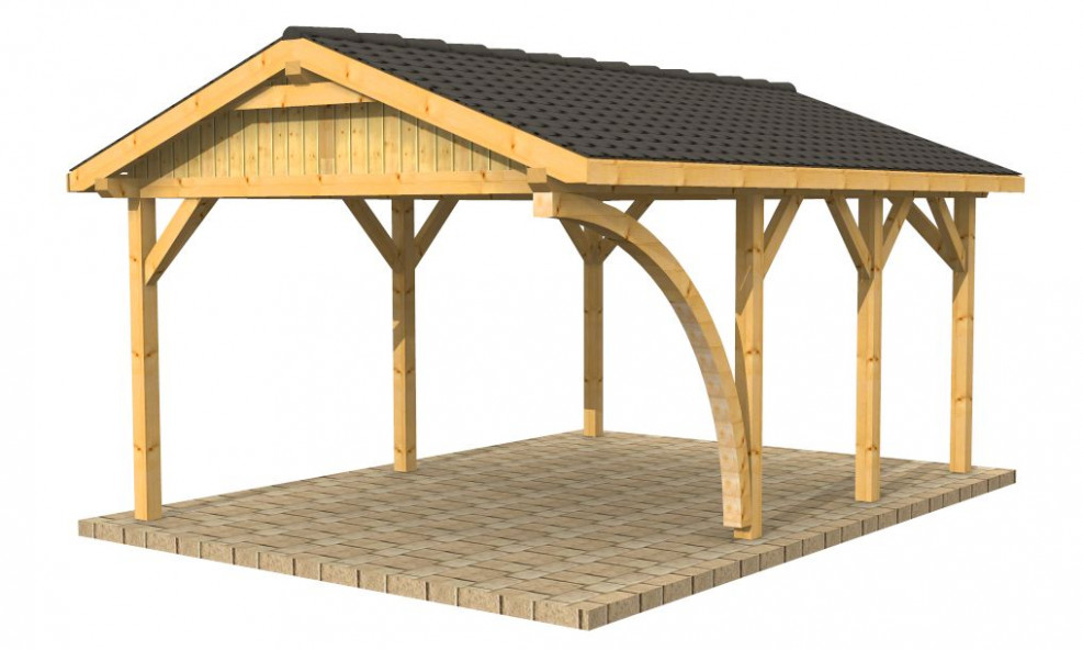 High Quality Timber Buildings, Wooden Carports, Shelters ..