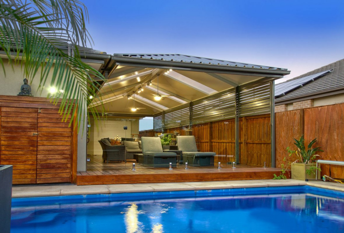 Hip Roof Patios And Carports | Upspec Patios & Sheds ..