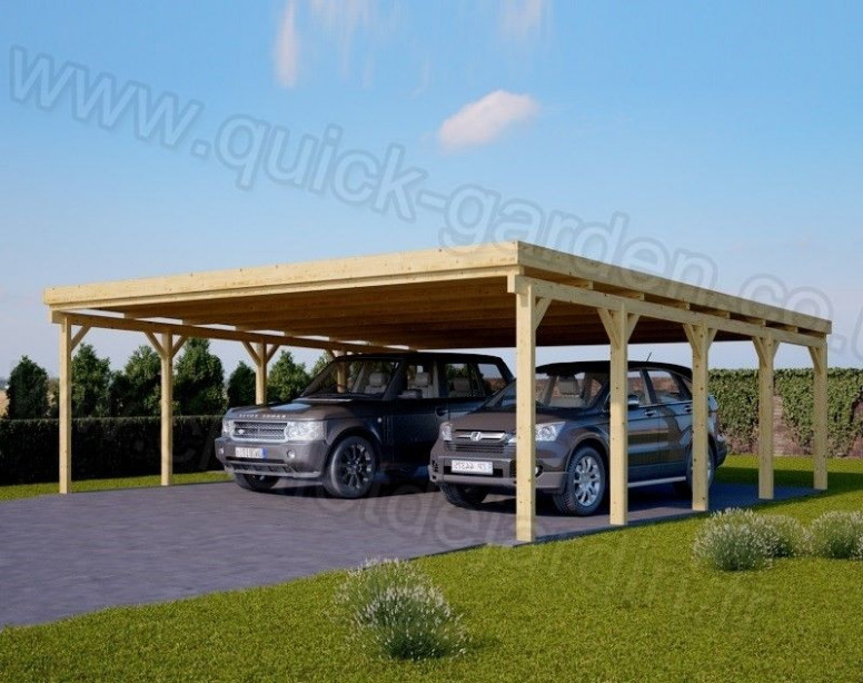 Home / Wooden Carport 20 X 20 Double | Carports | Timber ..
