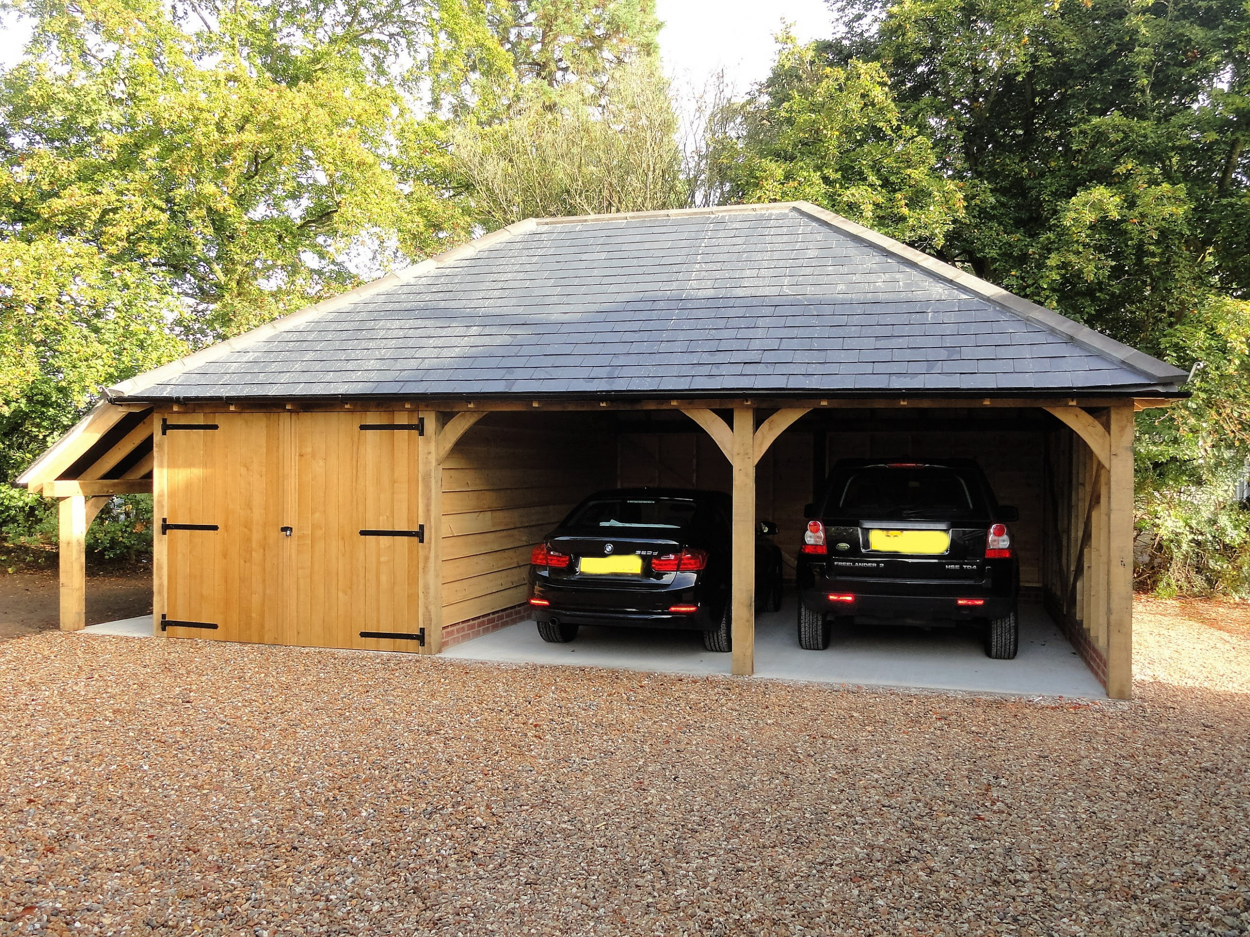 Home Wooden Carports Sussex