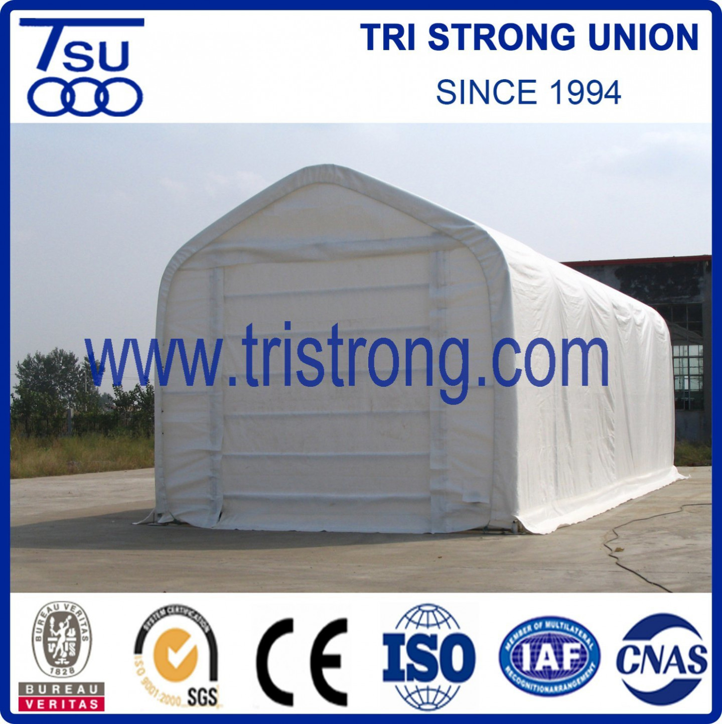 [Hot Item] Shelter/Large Portable Bus Carport/Bus Tent/Bus Parking Shed (TSU 12) Dome Carport Canopy