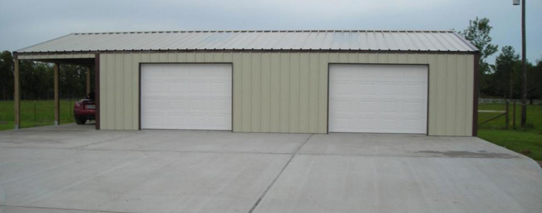 Houston Steel Garages And Shop Buildings Free Quotes Call Today Metal Carport Garage Kits