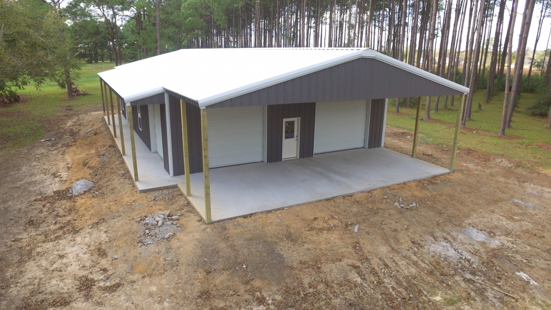 Houston Steel Garages and Shop Buildings Free Quotes Call Today
