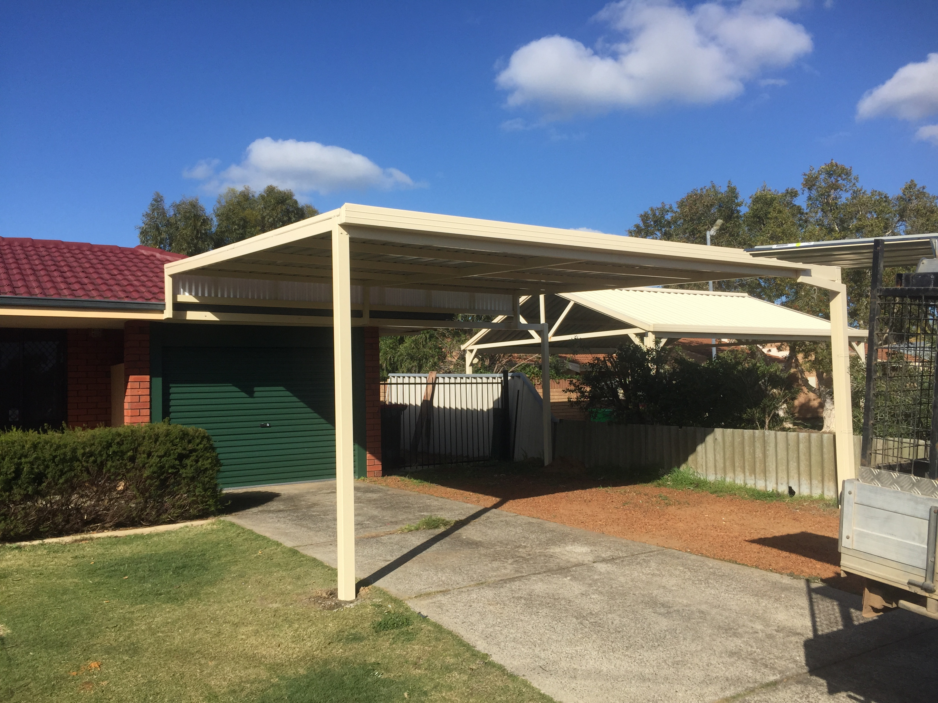 How Close To The Boundary Can I Build My Carport? Carport Roof Build
