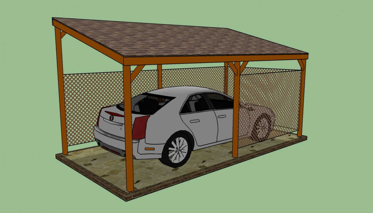 How To Build A Lean To Carport   HowToSpecialist How To ..